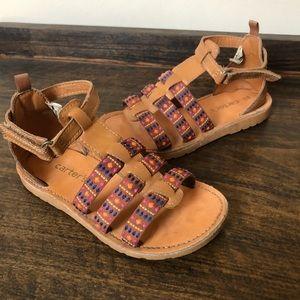 Little girls Carter sandals, size 11